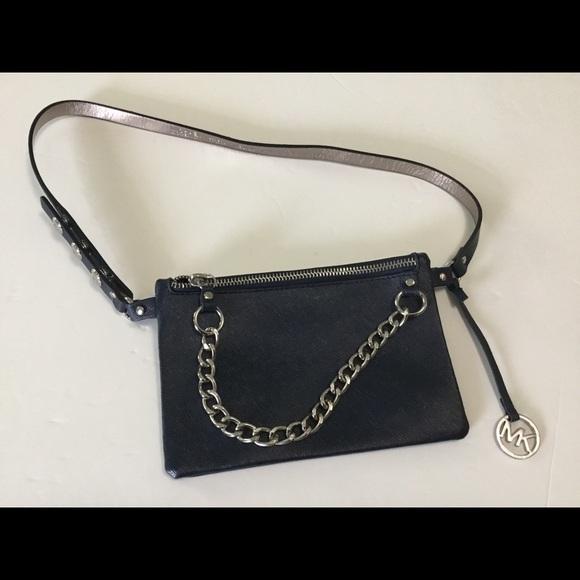 Michael Kors Handbags - Michael Kors Fanny Pack Belt Bag /Metal
